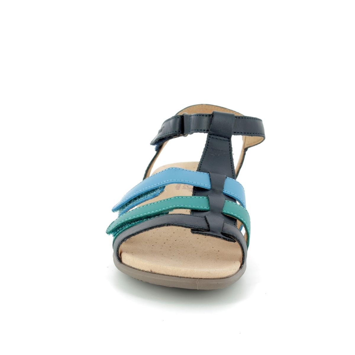 1361ba7cec6 Hotter Sandals - Navy multi - 8110 70 SOL E FIT