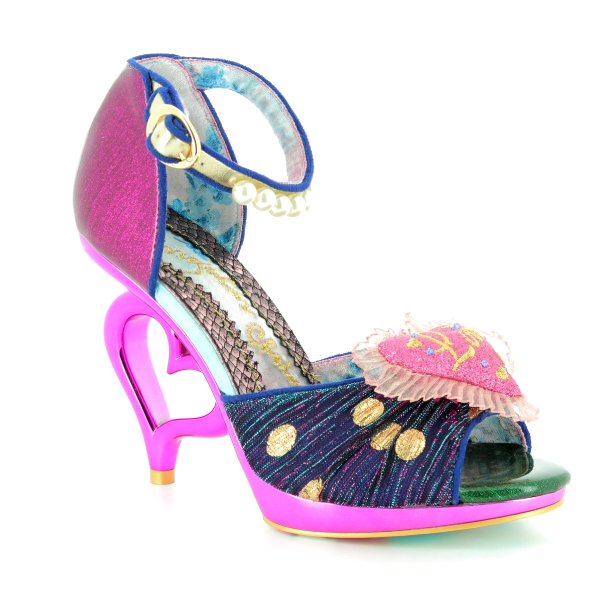 f85f83a53884 Irregular Choice High-heeled Shoes - Pink - 4425-02A SHOELY NOT