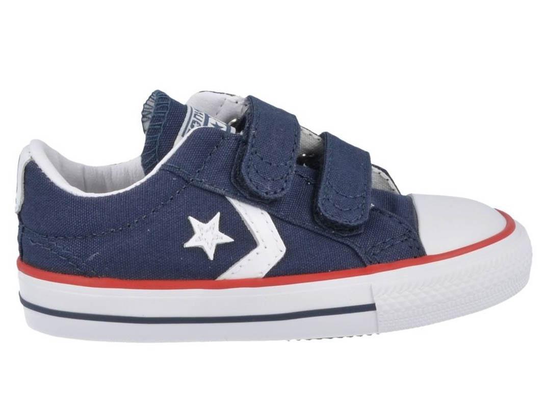 boys converse velcro shoes