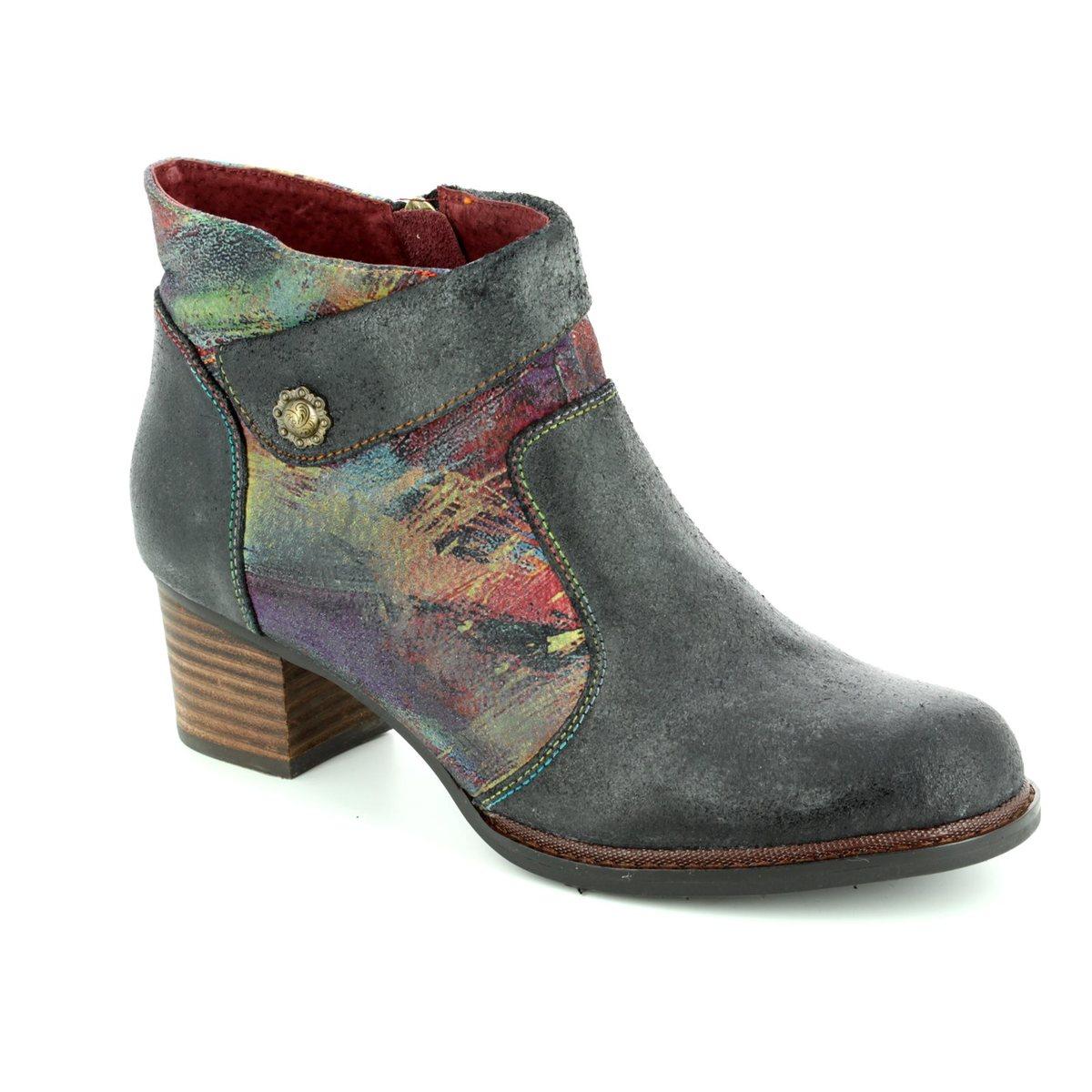 e4dc1d0b1 Laura Vita Ankle Boots - Black multi - 3002/30 ALEXIA 13