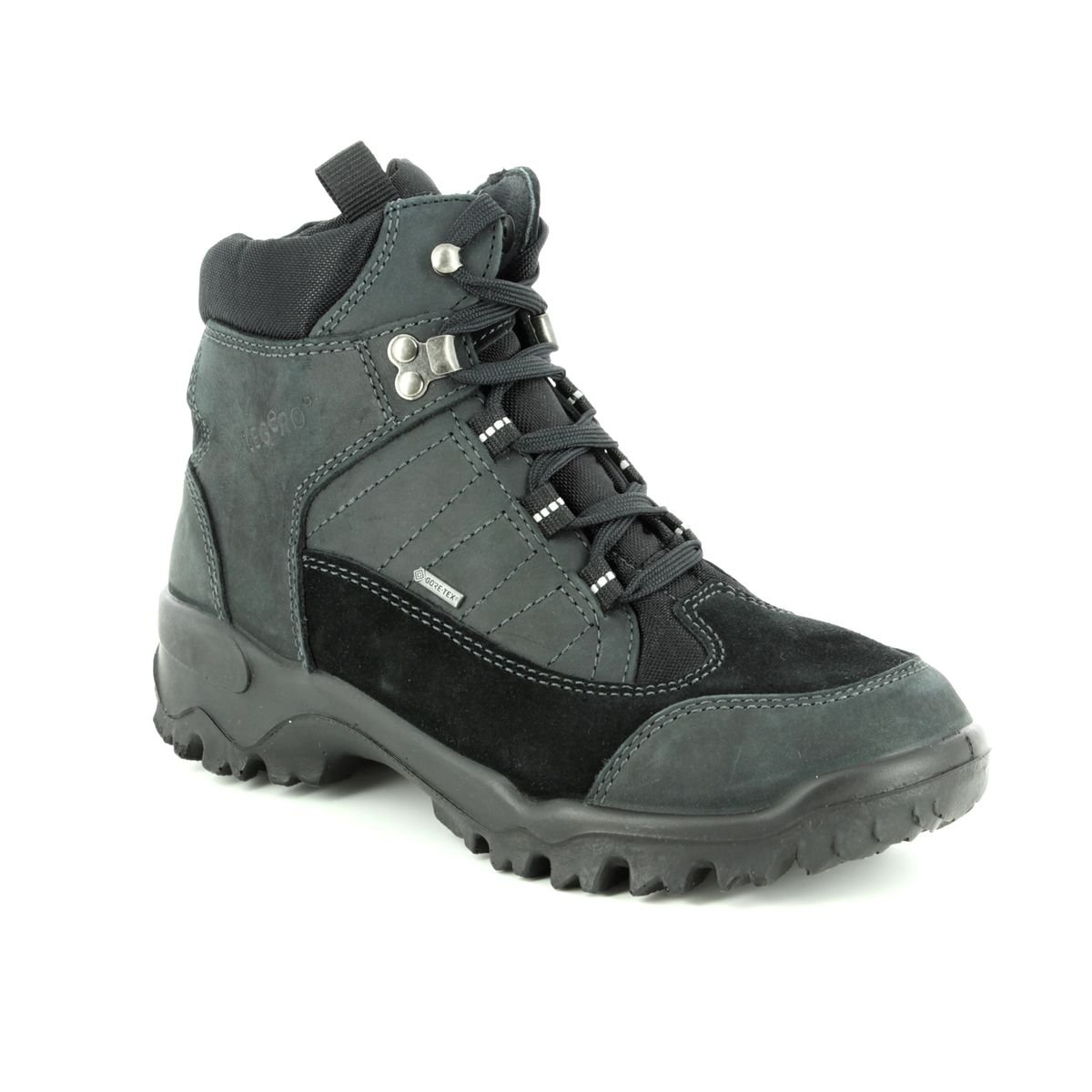 3eabed418d0 Gore Tex. Legero Walking Boots - Black nubuck - 00502/00 WALK GTX LADIE