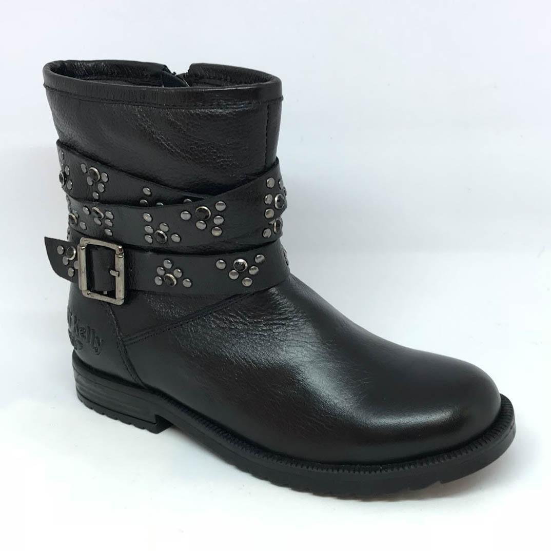 9d1321b9 Lelli Kelly Boots - Black leather - LK3610/CB01 ELENA