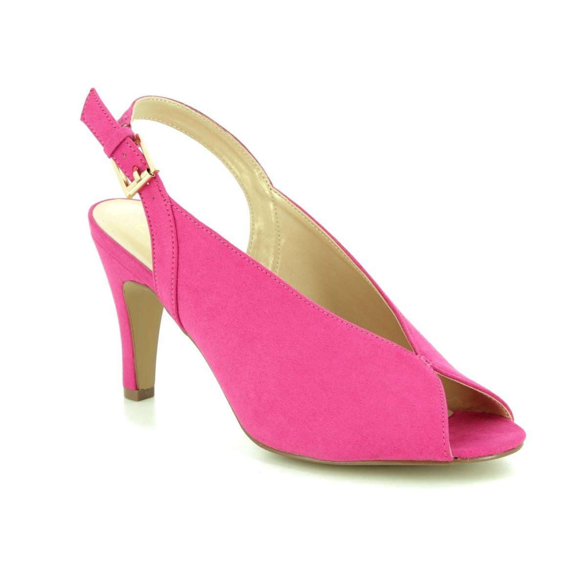 a85109e6d86 Lotus Slingback Shoes - Fuchsia - ULS066 62 AKIKO