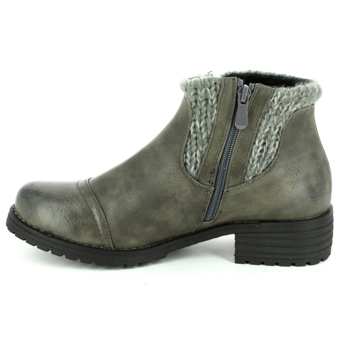 caec98ecc Lotus Ankle Boots - Grey - 40425/00 AYLA