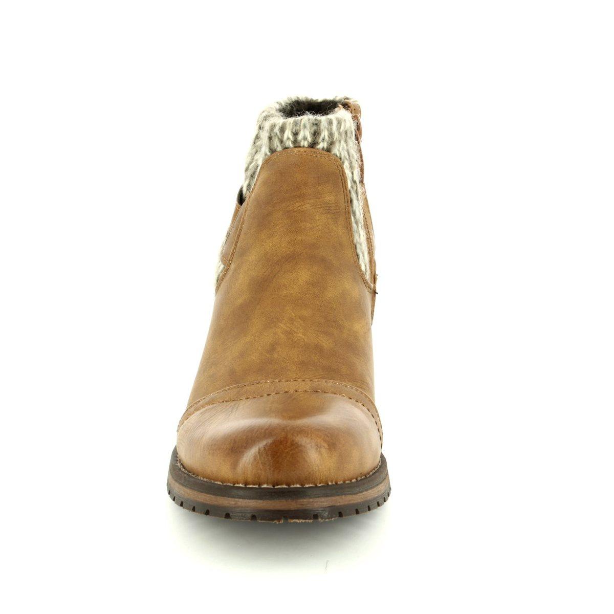 030e61162 Lotus Ankle Boots - Tan - 40425/10 AYLA