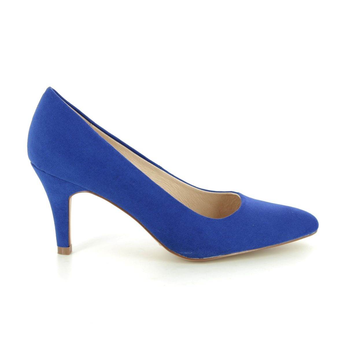60f9a5d111d4 Lotus High-heeled Shoes - Blue - ULS055 72 HOLLY