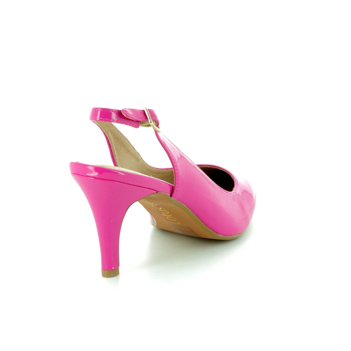 bd3bd3646486 Yasmine Fuchsia High Platform Heels Source · Lotus Nadia Fuchsia high  heeled shoes