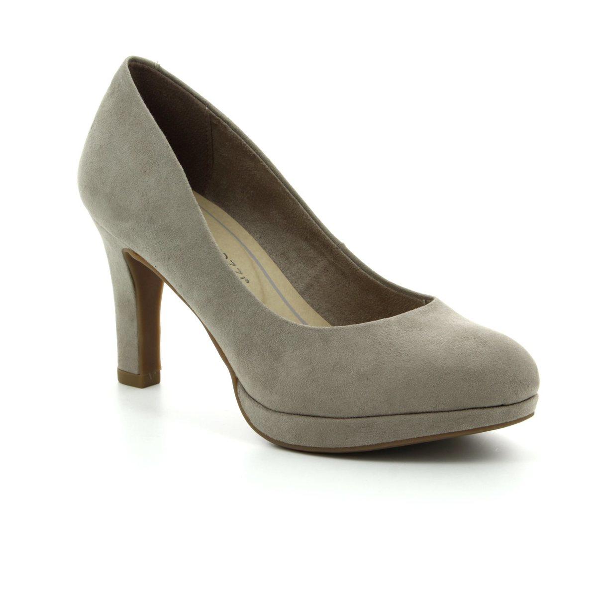 Marco Tozzi High-heeled Shoes - Taupe - 22417/20/341 BADAMI