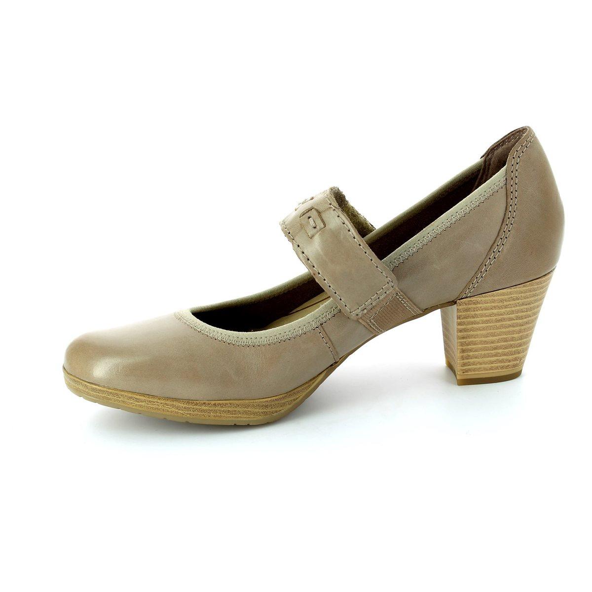 marco tozzi barsabar 24415 335 taupe heeled shoes. Black Bedroom Furniture Sets. Home Design Ideas