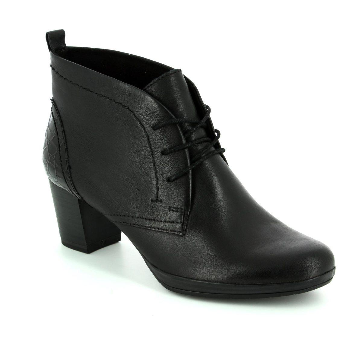 89d8e3480fb88 Marco Tozzi Ankle Boots - Black croc - 25106/096 BARSANTAL