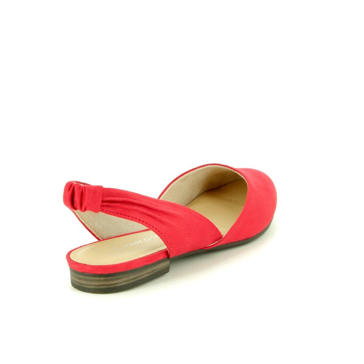 327c5f82a070a Marco Tozzi Closed Toe Sandals - Red - 29407/32/533 BRAVISLING