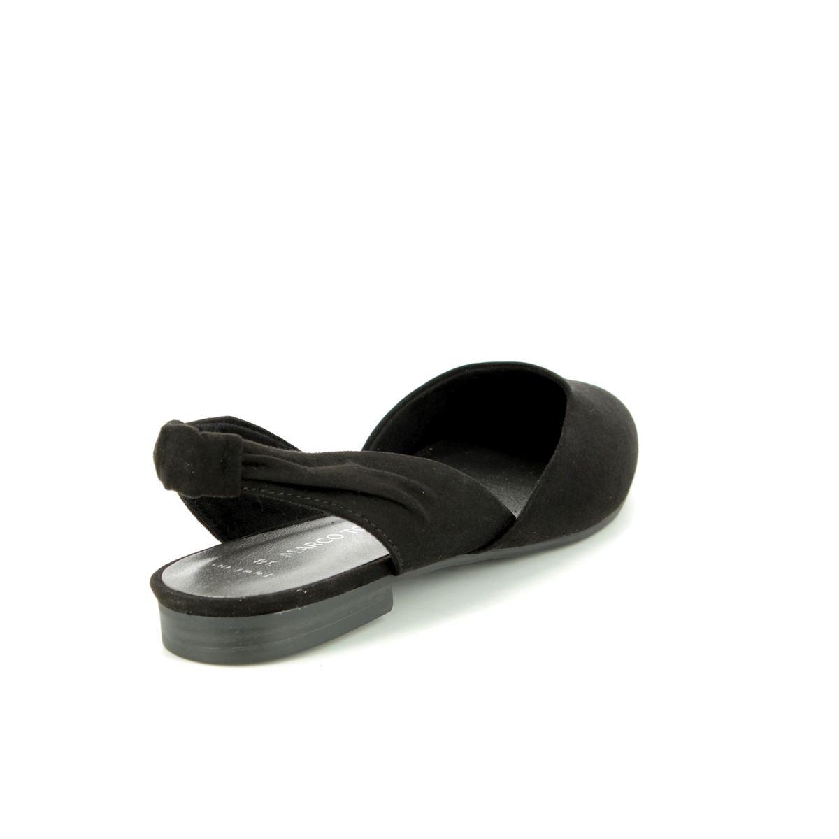 120574a24a99c Marco Tozzi Closed Toe Sandals - Black - 29409/32/001 BRAVISLING