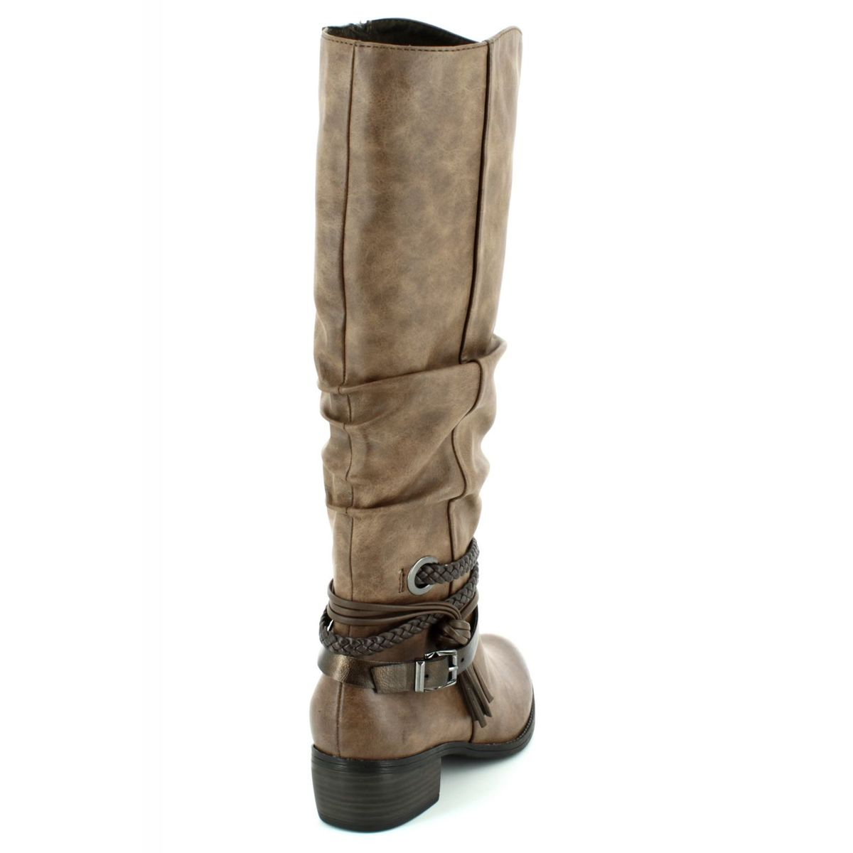 0a610f8715c Marco Tozzi Knee-high Boots - Tan multi - 25507 372 DREMA 72