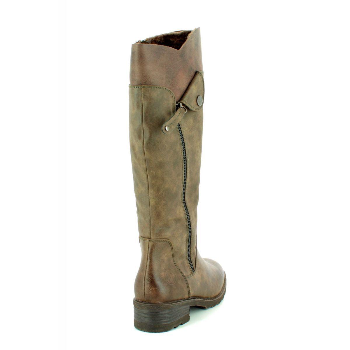 9dba70eda59 Marco Tozzi Knee-high Boots - Brown - 26639 21 358 DUSSI 85