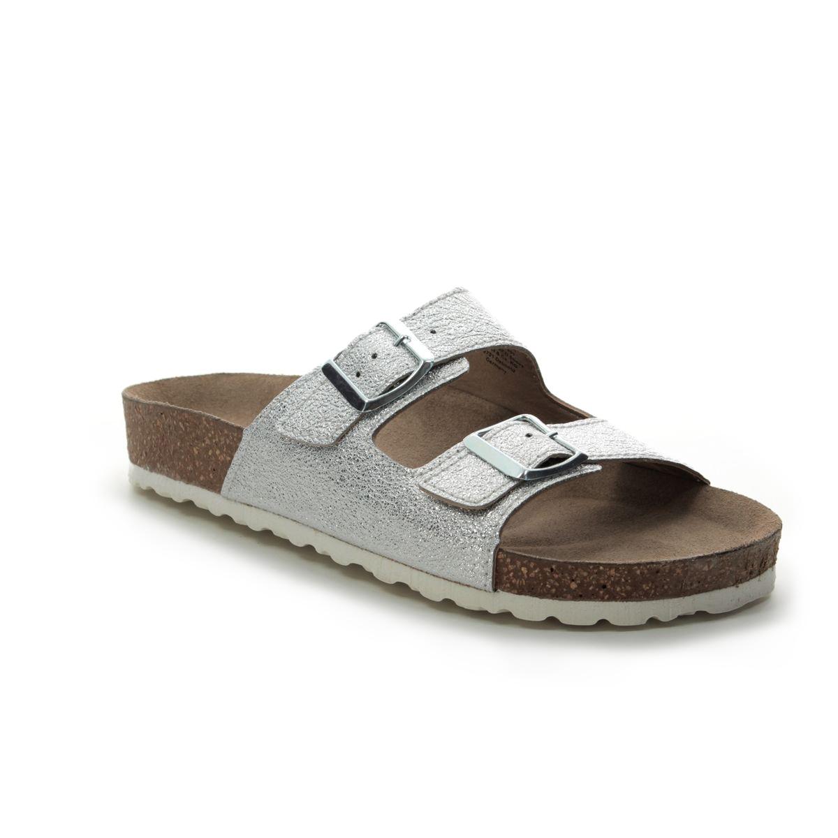 b312bb560 Marco Tozzi Slide Sandals - Silver - 27401 22 941 FRANCA SLIDE