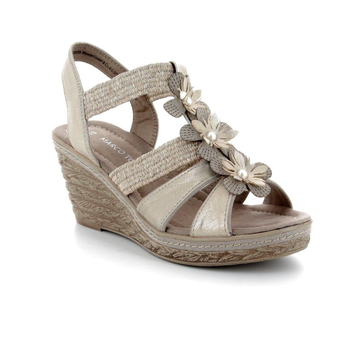 Tozzi Taupe Freto heeled 344 Marco 20 shoes 28302 81 multi vRWxxdq