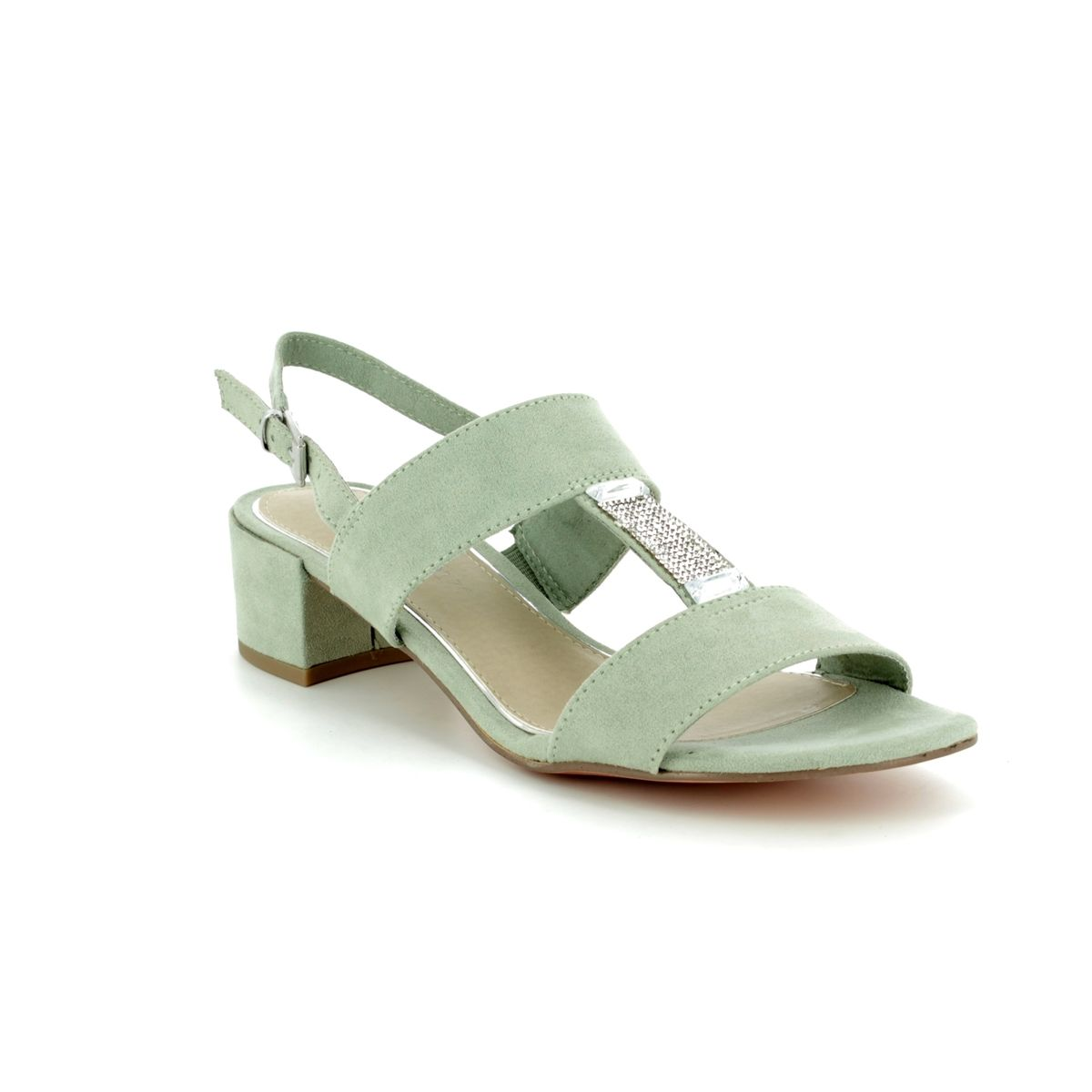 c58bce0dd5a Marco Tozzi Heeled Sandals - Mint green - 28202 20 768 HECHO 81