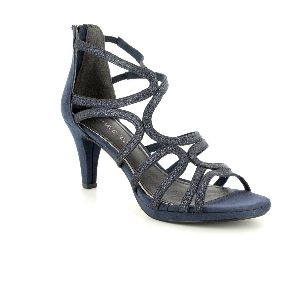 6ff8ca09 Marco Tozzi Heeled Sandals - Navy - 28373/20/890 PADULIA