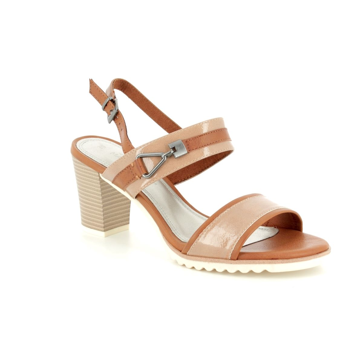 d750492d663 Marco Tozzi Heeled Sandals - Taupe multi - 28704 20 640 PADUMI 81