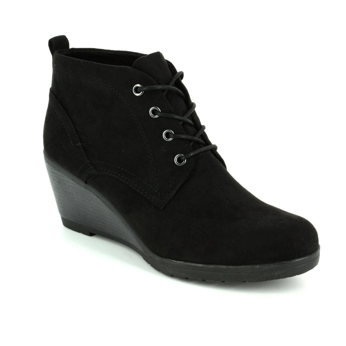 c0ed7f89a8 Marco Tozzi Ranco 62 25111-001 Black ankle boots