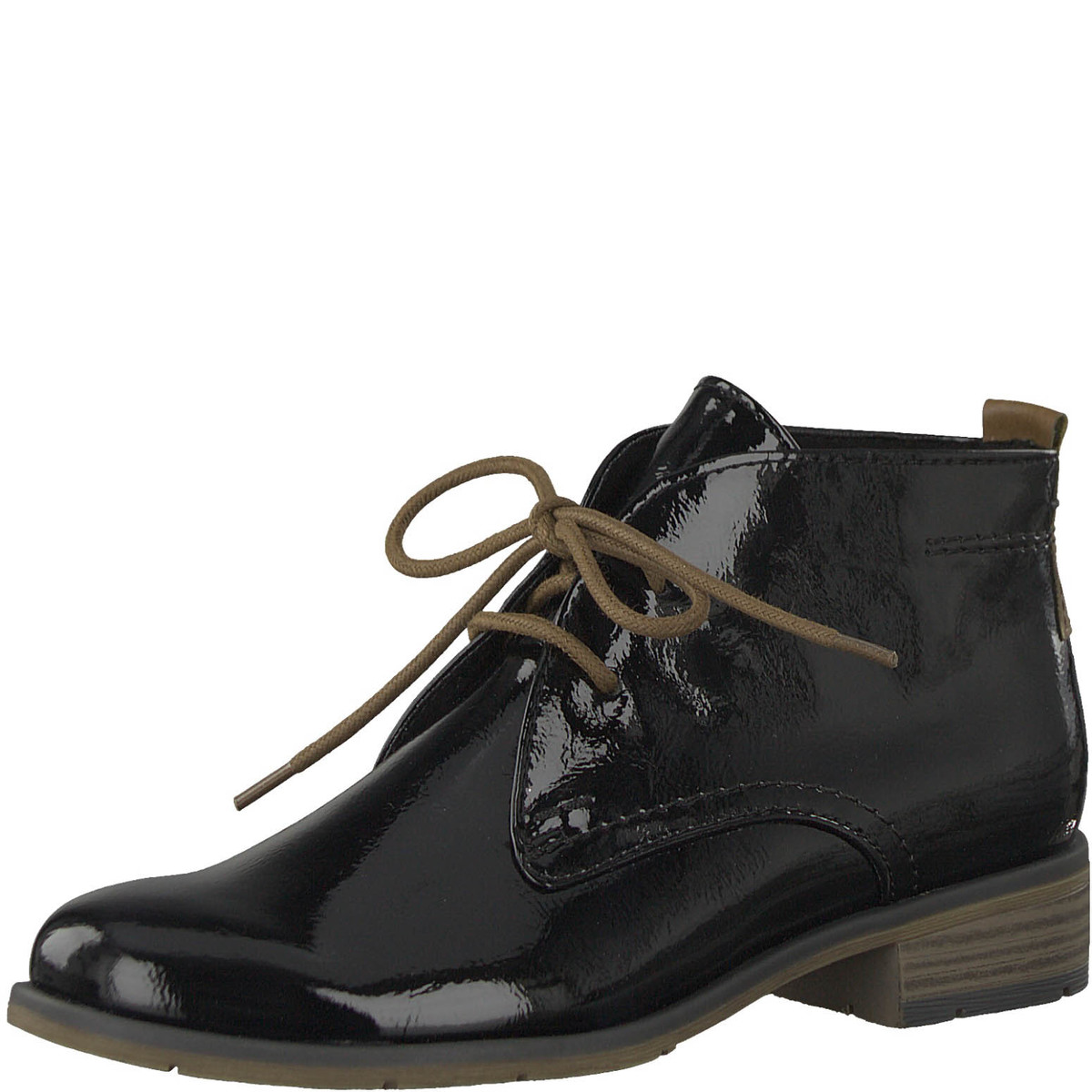66bab0d192f85 Marco Tozzi Ankle Boots - Black patent - 25118/31/059 RAPALL 85