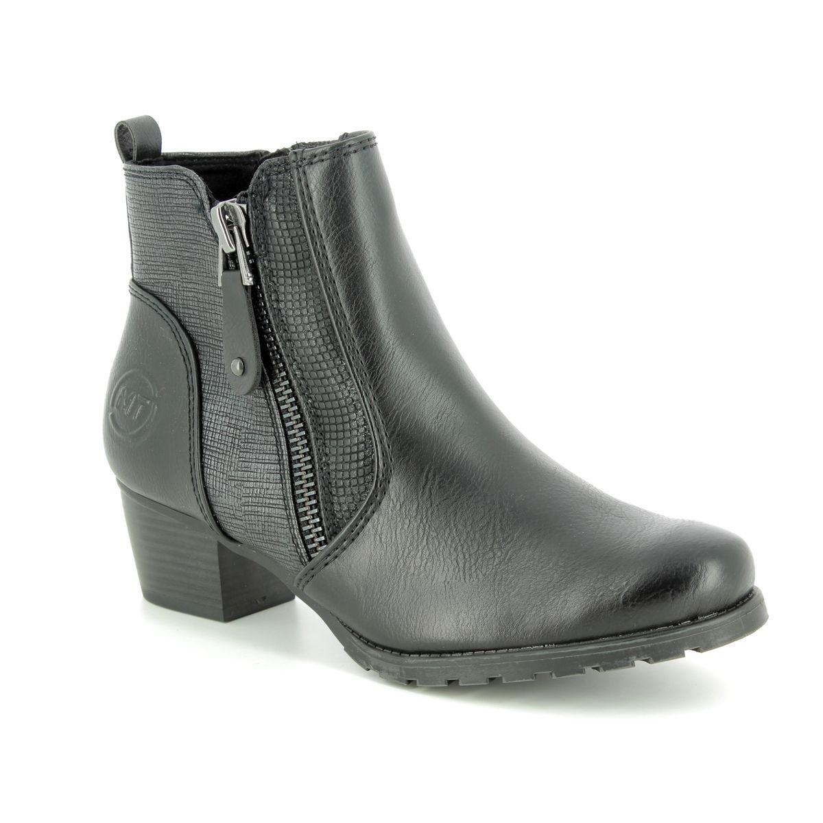 aa72766dfce4 Marco Tozzi Ankle Boots - Black - 25309 21 096 ROSANZIP