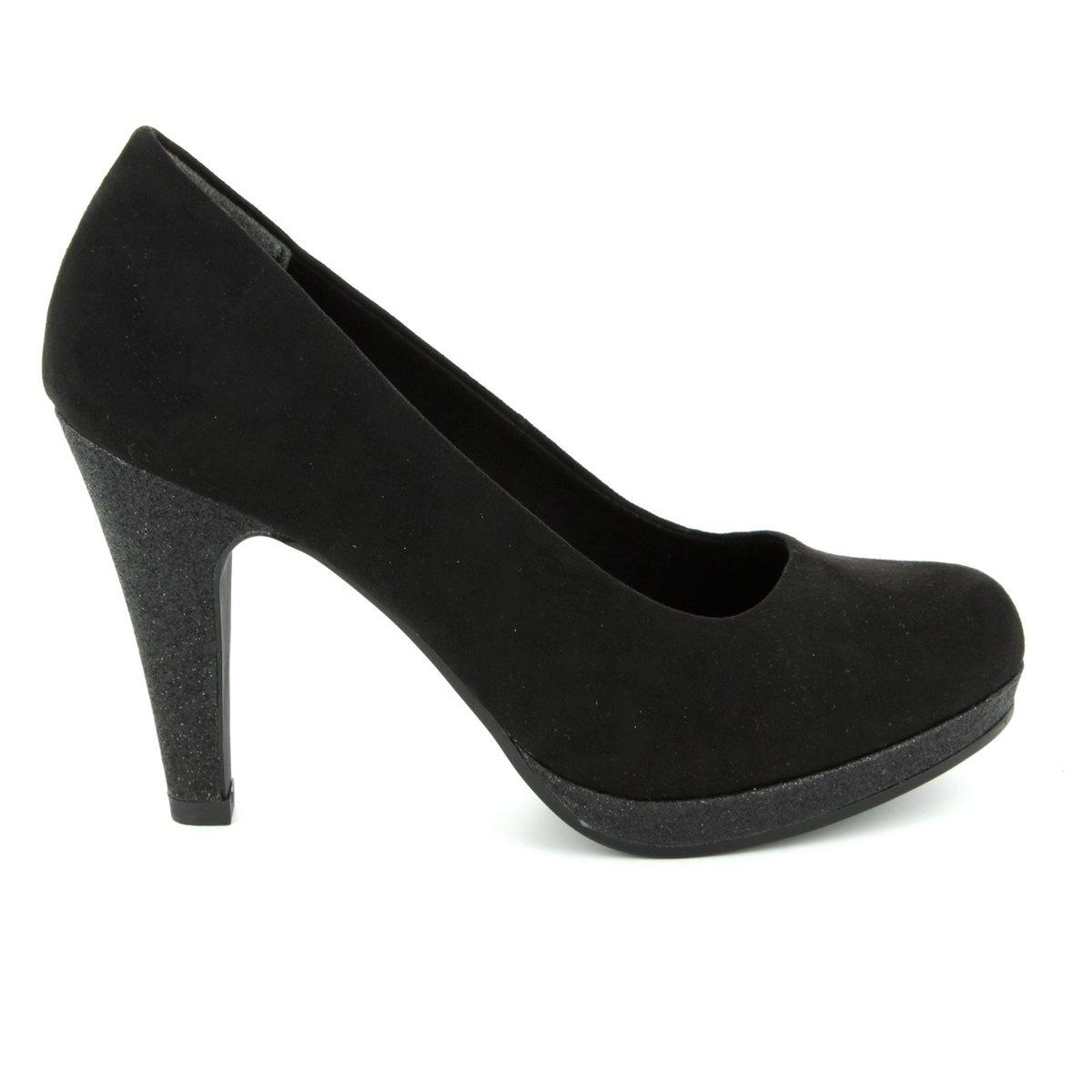 Womens 22441 Closed Toe Heels, Black, 3 UK Marco Tozzi
