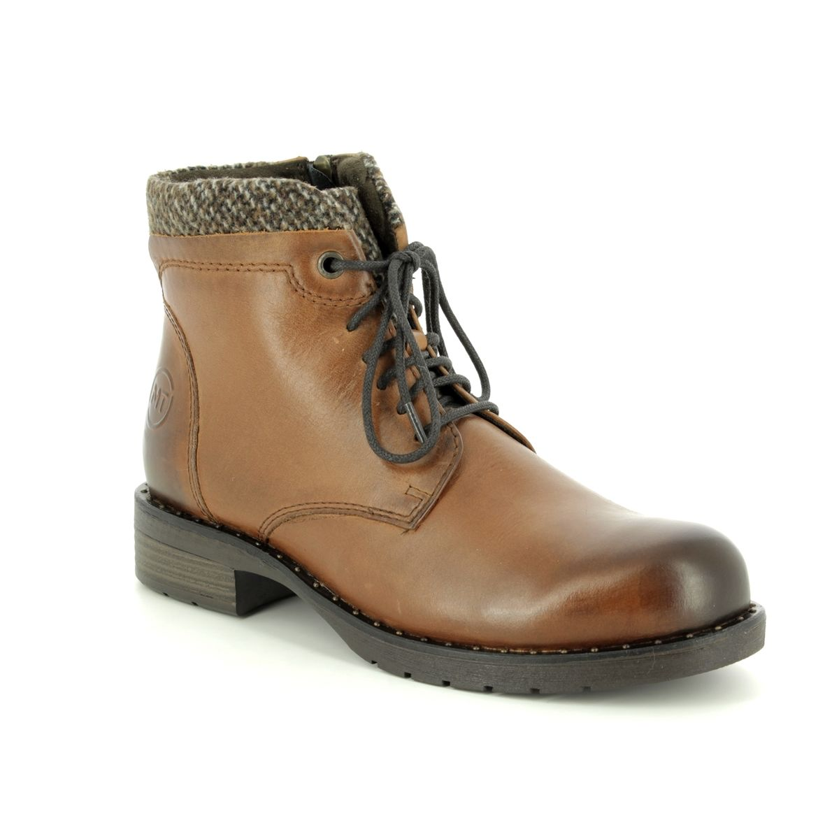 372 ankle Tan 21 Tozzi Marco boots Venezia 25203 Leather 0fqwvxI4n