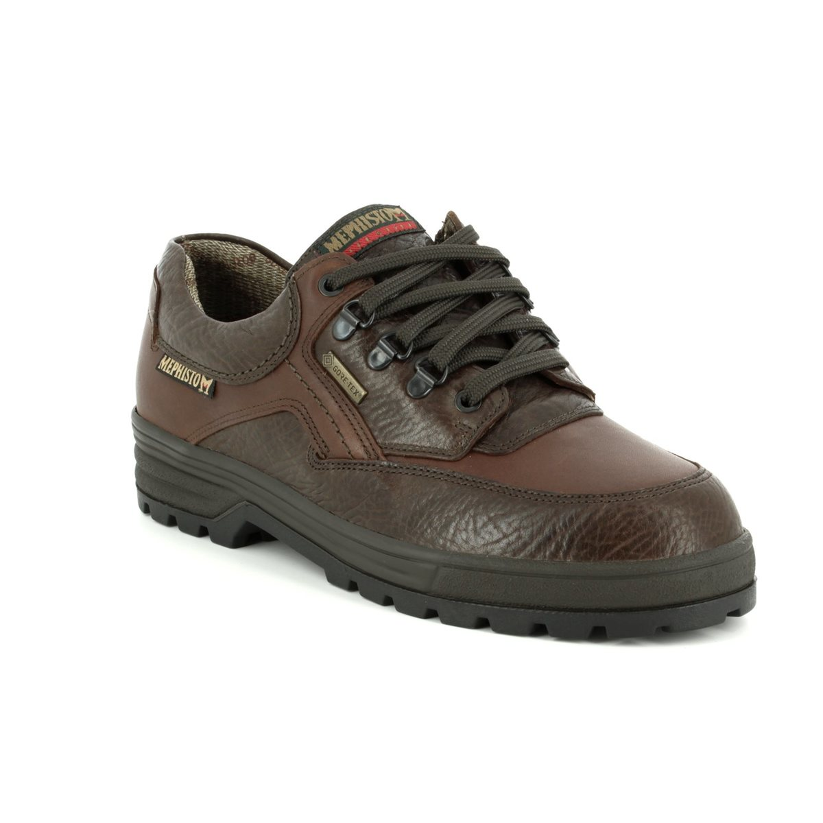 a6228fd53a Mephisto Casual Shoes - Dark brown - B818C85/751 BARRACUDA GORE-TEX