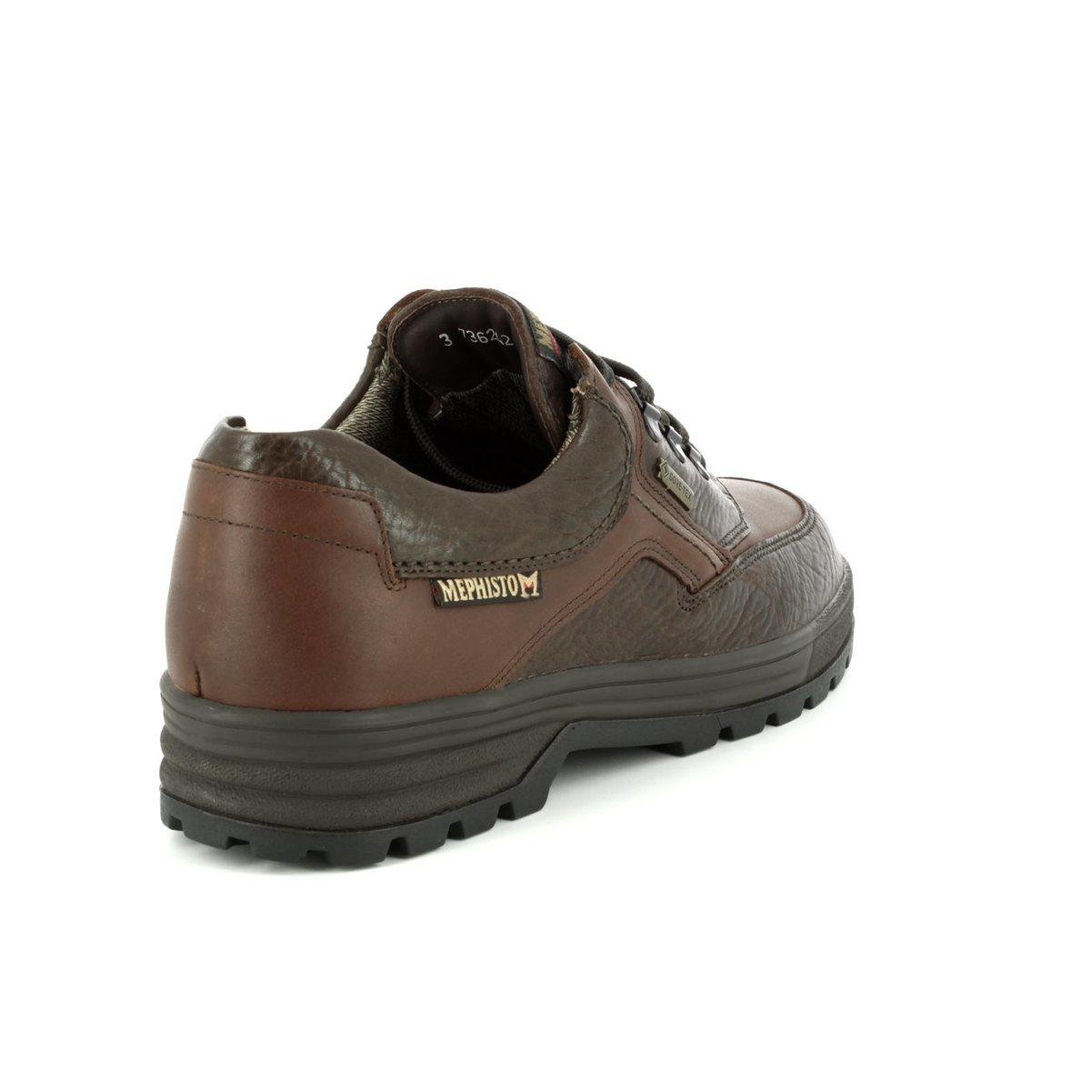 e0672e8a196782 Mephisto Casual Shoes - Dark brown - B818C85/751 BARRACUDA GORE-TEX