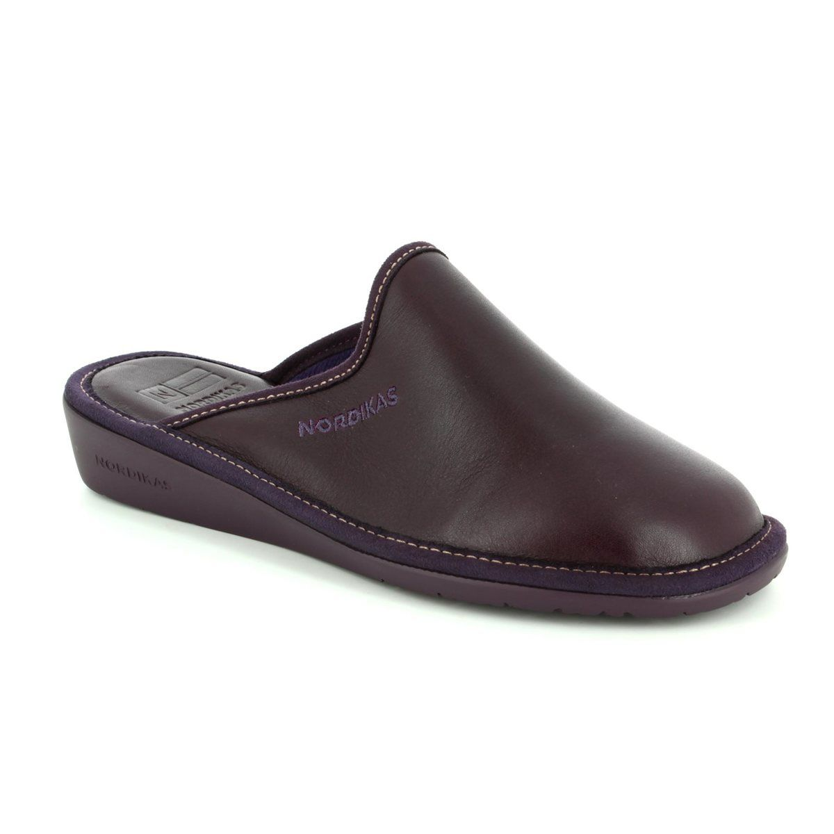 eefae5de93ec7 Nordikas Slipper Mules - Purple - 0347/8 MULEA NEW