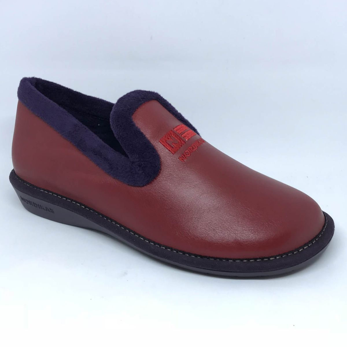 45556e2b94e4f Nordikas Slippers - Red leather - 305 4 TABACKIN