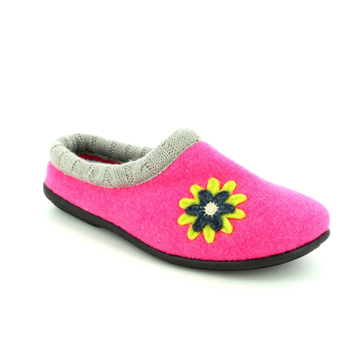 78aba9a1a9c Padders Slippers - Pink multi - 4018 53 FREESIA 2E-3E FIT