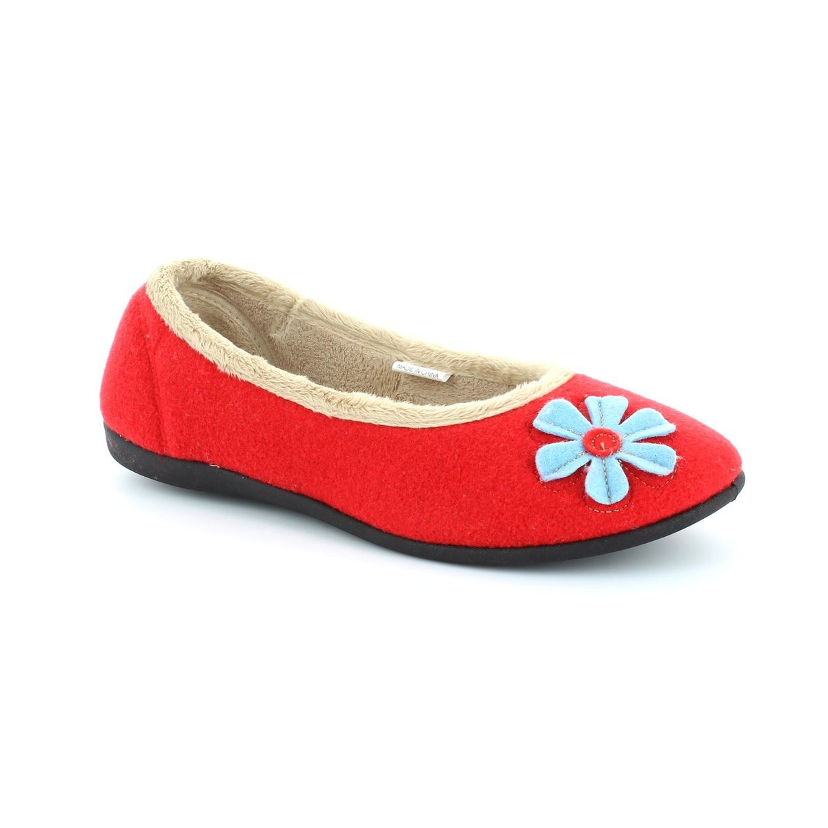 fe9bd68b9a2a6 Padders Slippers - Red multi - 464/44 HAPPY E FIT
