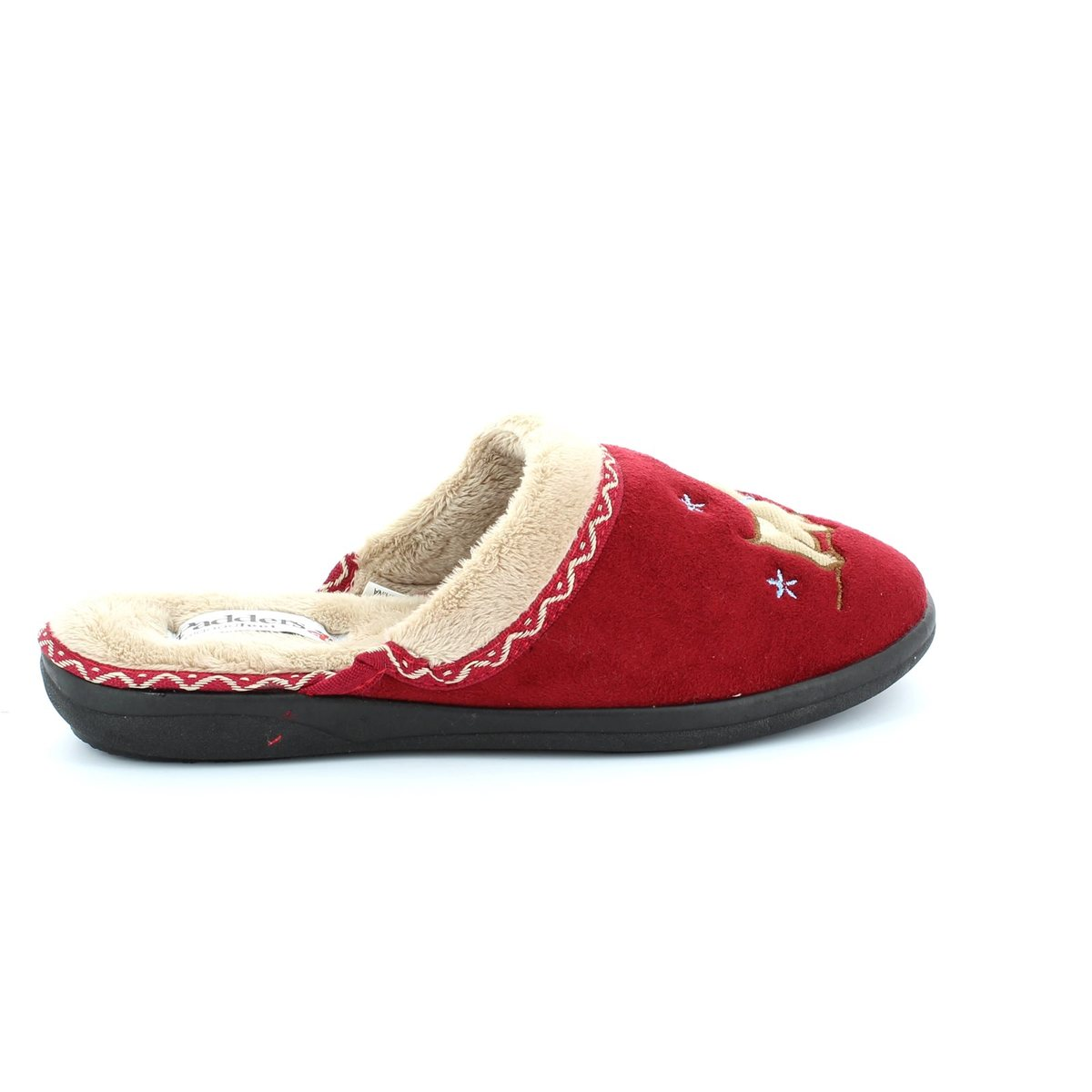 5ef83dfd6b0bb Padders Slippers - Red - 479/42 SCOTTY 2E FIT