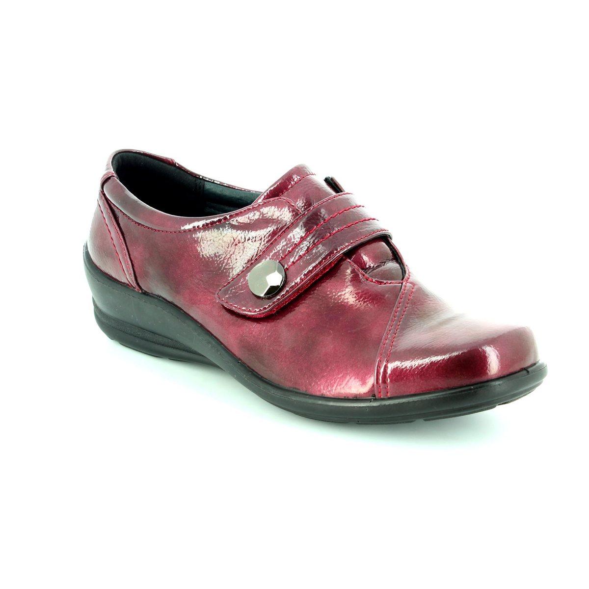 77b0b113c7c Padders Comfort Shoes - Wine patent - 0200 12 SIMONE E-2E FIT