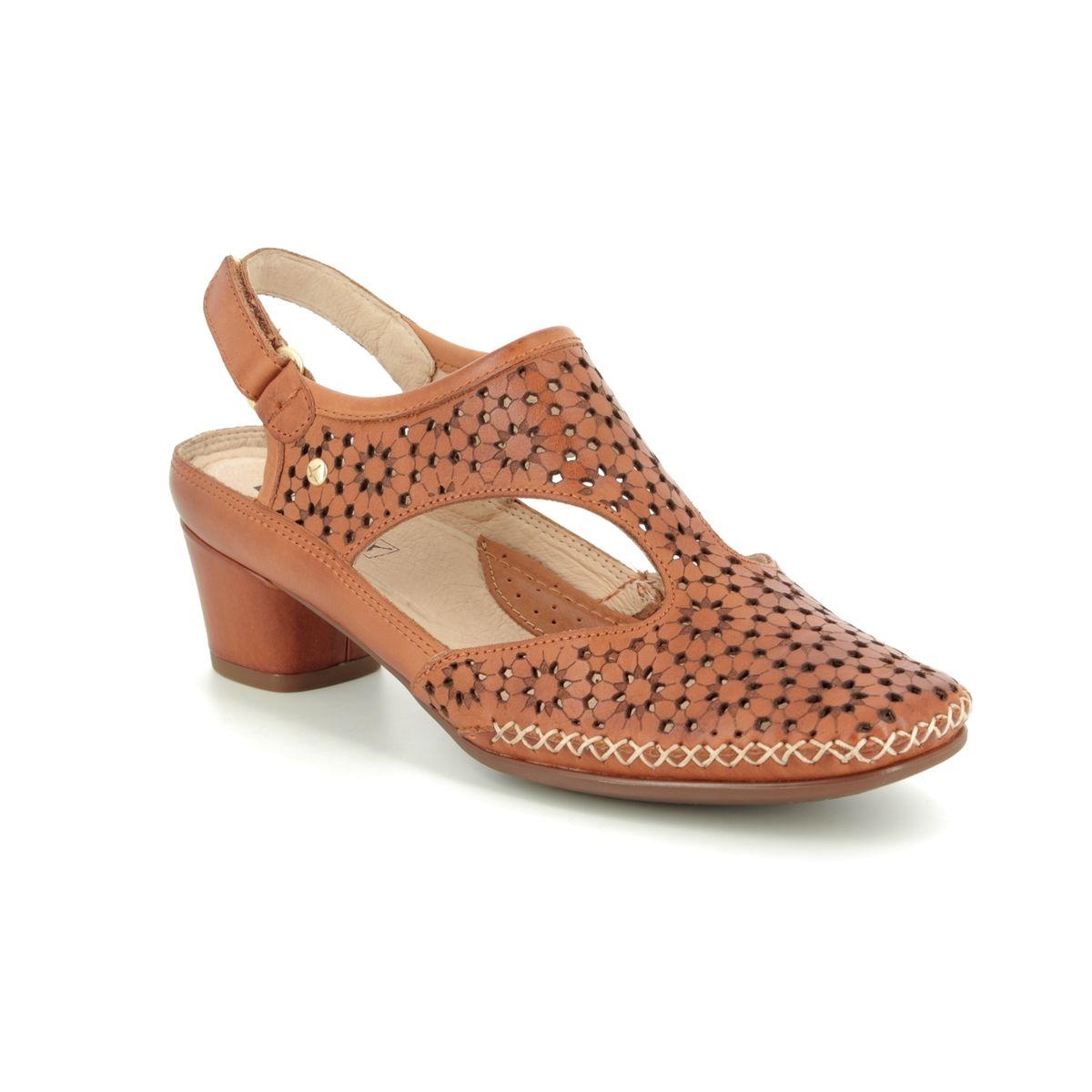 30fc6e06db2b2 Pikolinos Closed Toe Sandals - Tan Leather - W6R5873/11 GOMERA SINA