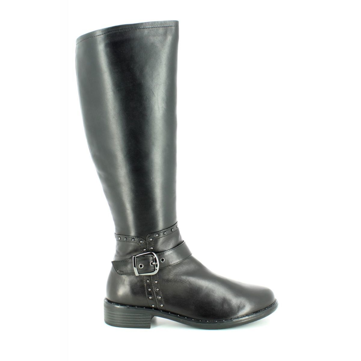 977ced40 Regarde le Ciel Knee-high Boots - Black leather - 2695/40 ROXANA 07