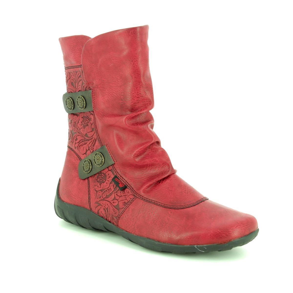 fd4376724c70 Remonte Ankle Boots - Wine - R3495-35 LIVMIDLASER TE