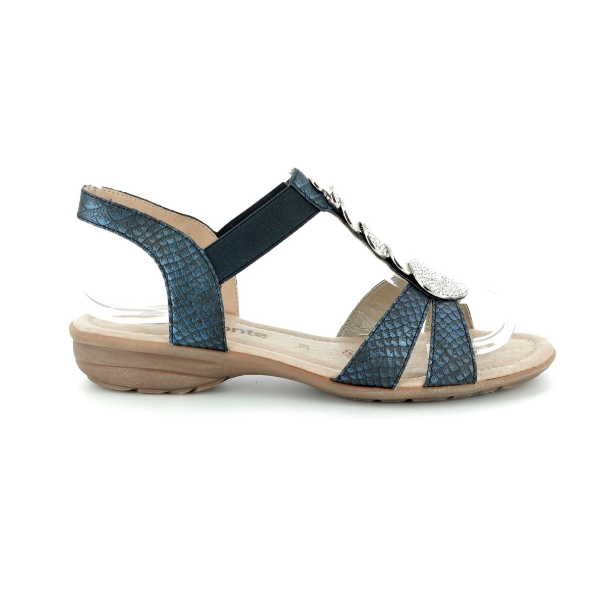 0b86423df1fe Remonte Sandals - Navy multi - R3638-14 ODEON