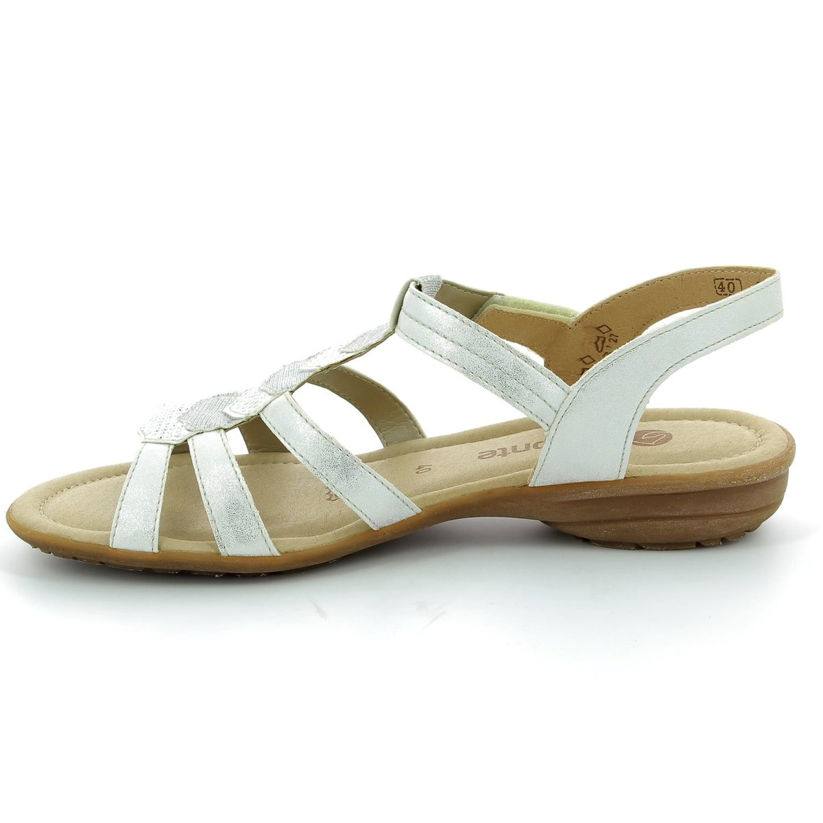 33c3ddd56c00 Remonte Sandals - Off white - R3637-80 ODESSA