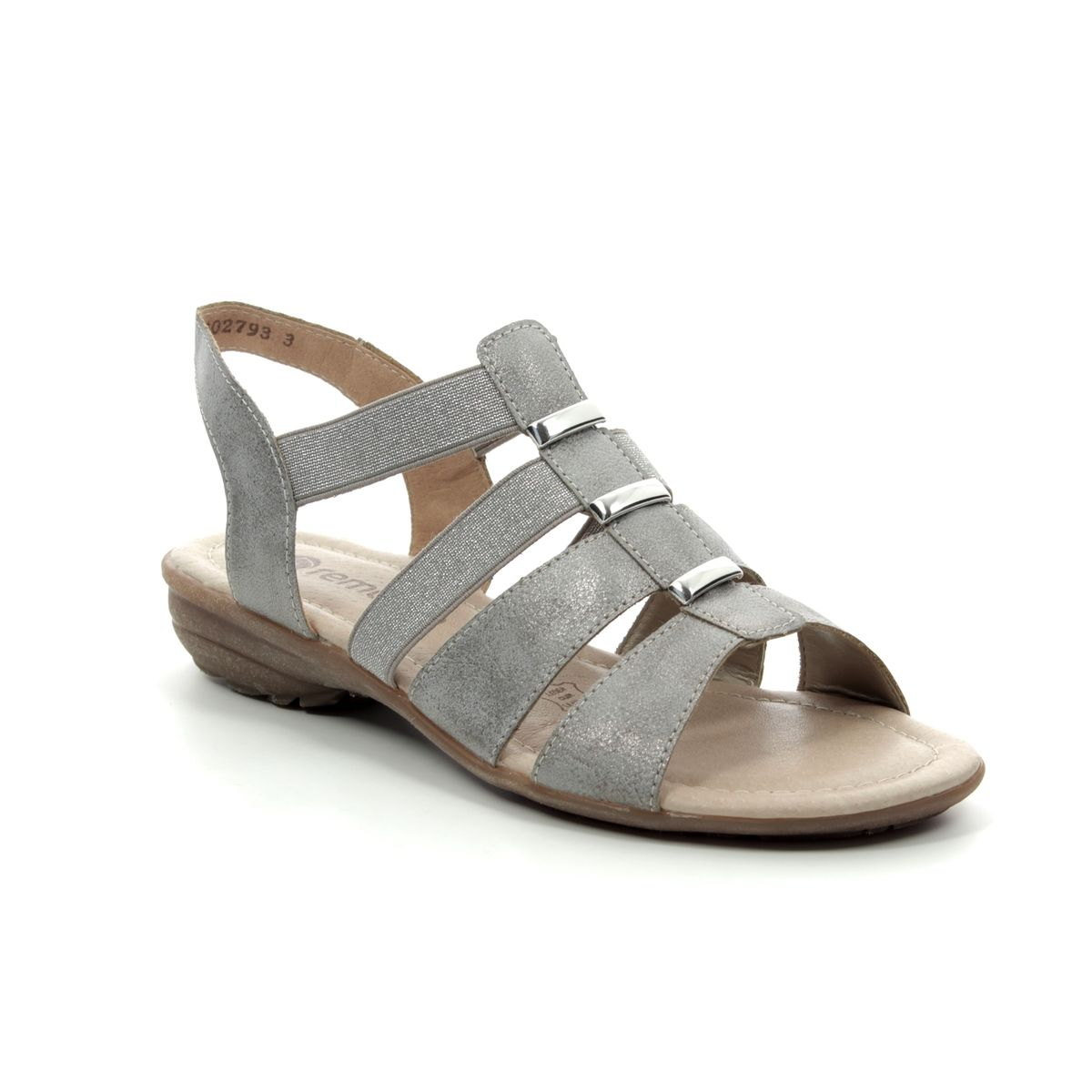 0aee08cfd58 Remonte Sandals - Light Grey - R3644-90 ODINE