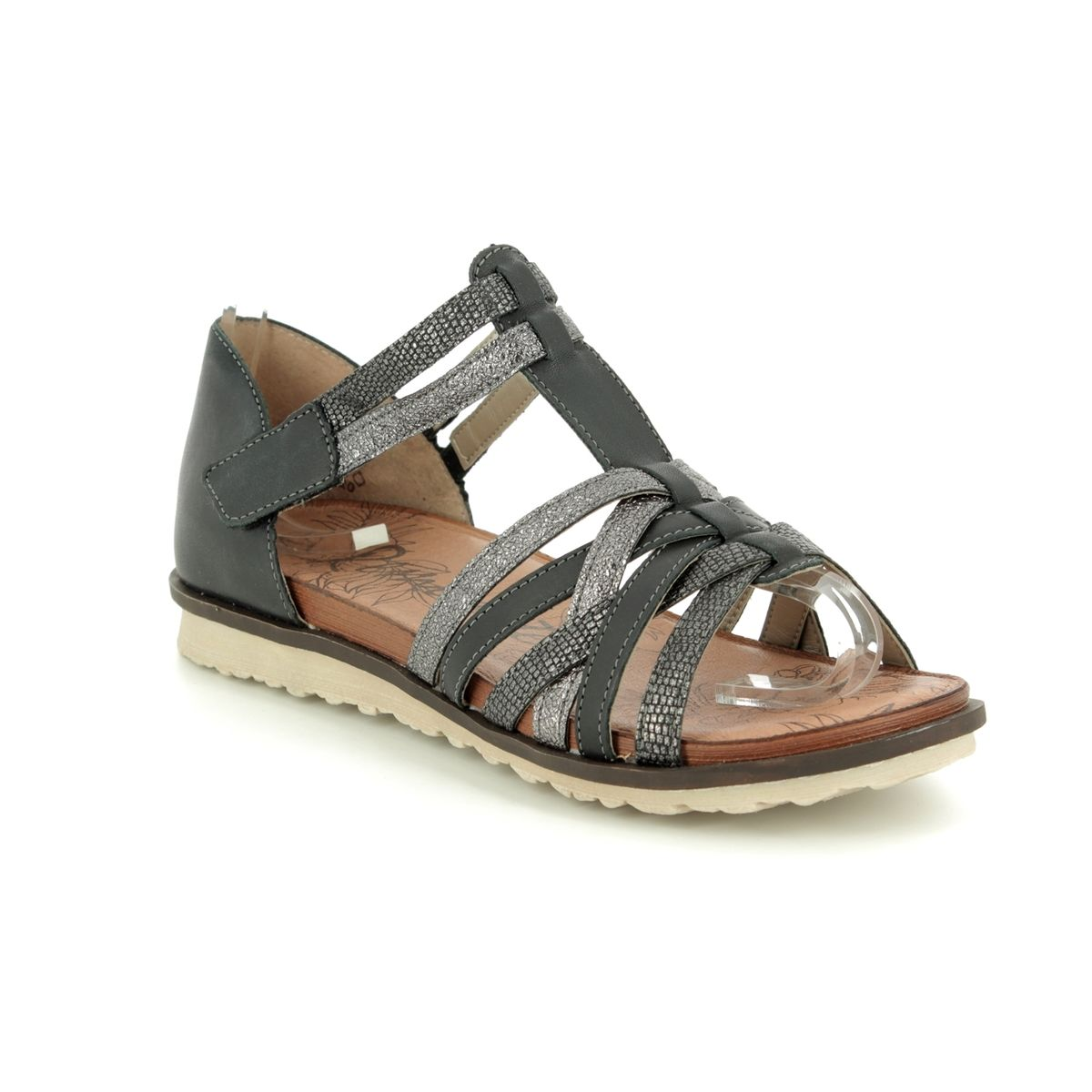3c95eb49bcd1 Remonte Flat Sandals - Black leather - R2756-02 PROMIZE