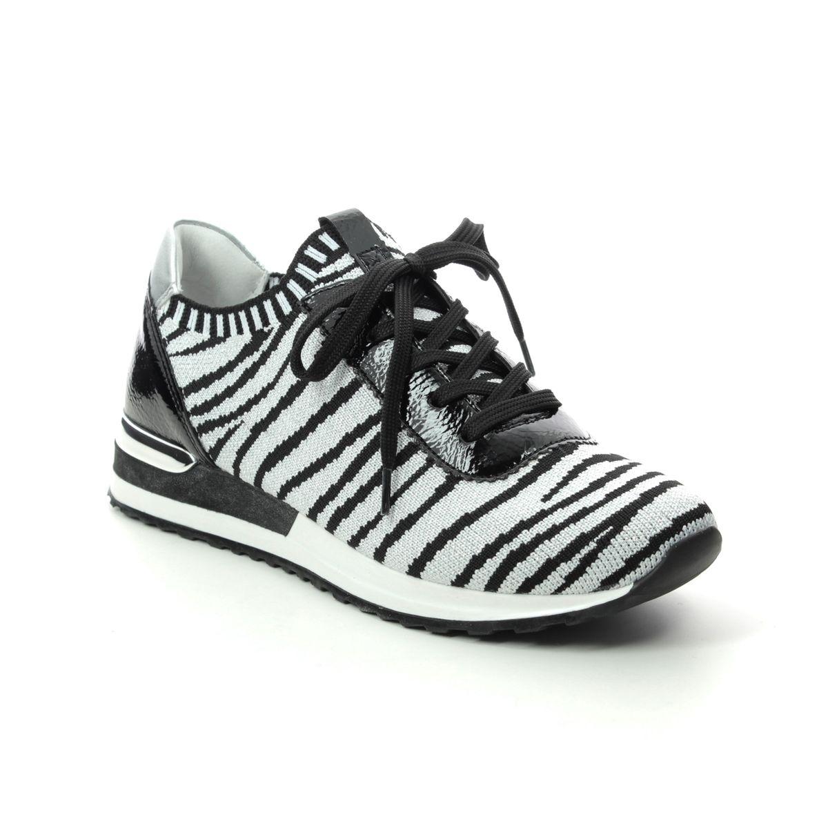 Remonte Vapoz R2508-90 Zebra print trainers