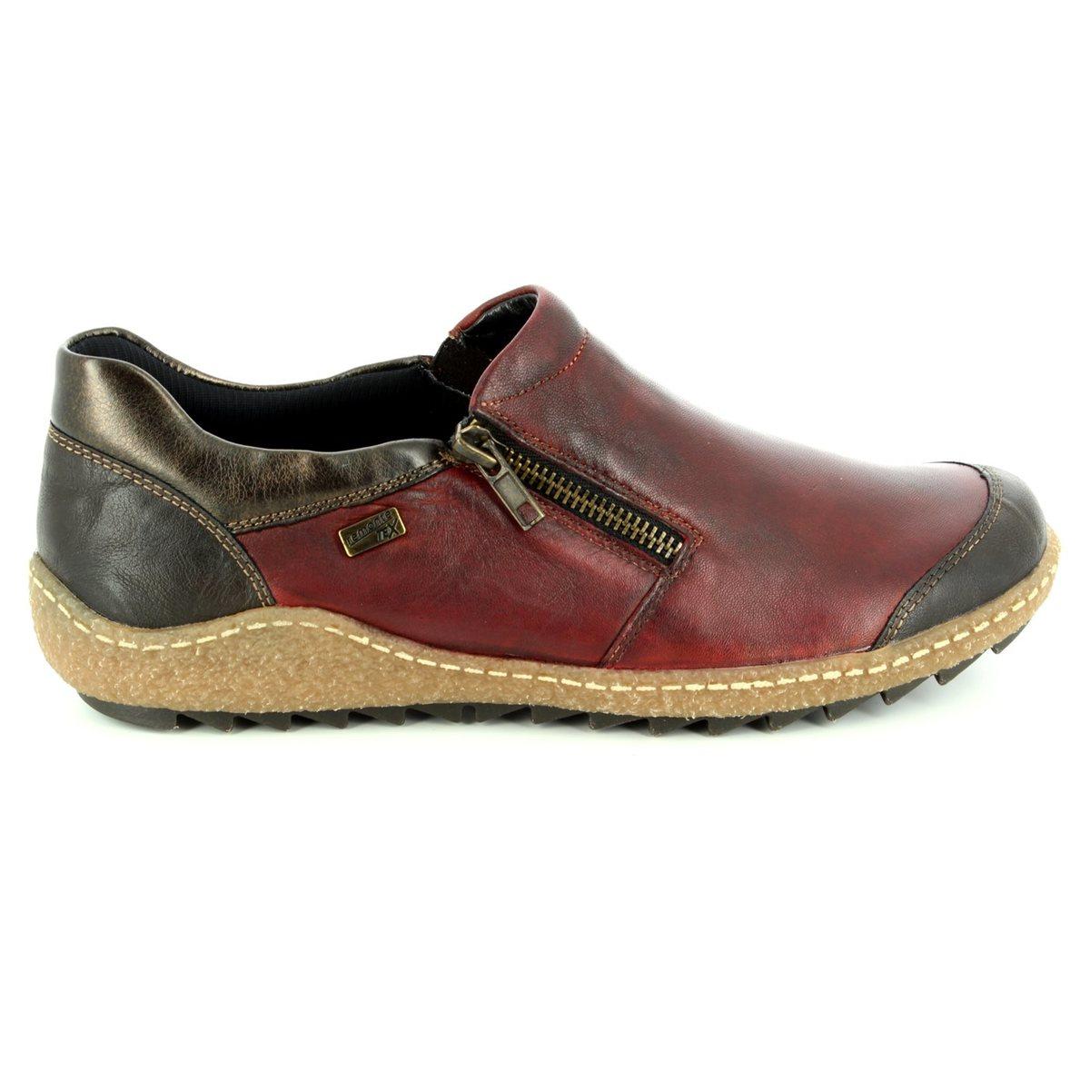 ecf6e78c Remonte Comfort Shoes - Red multi - R4701-35 ZIGSHU TEX