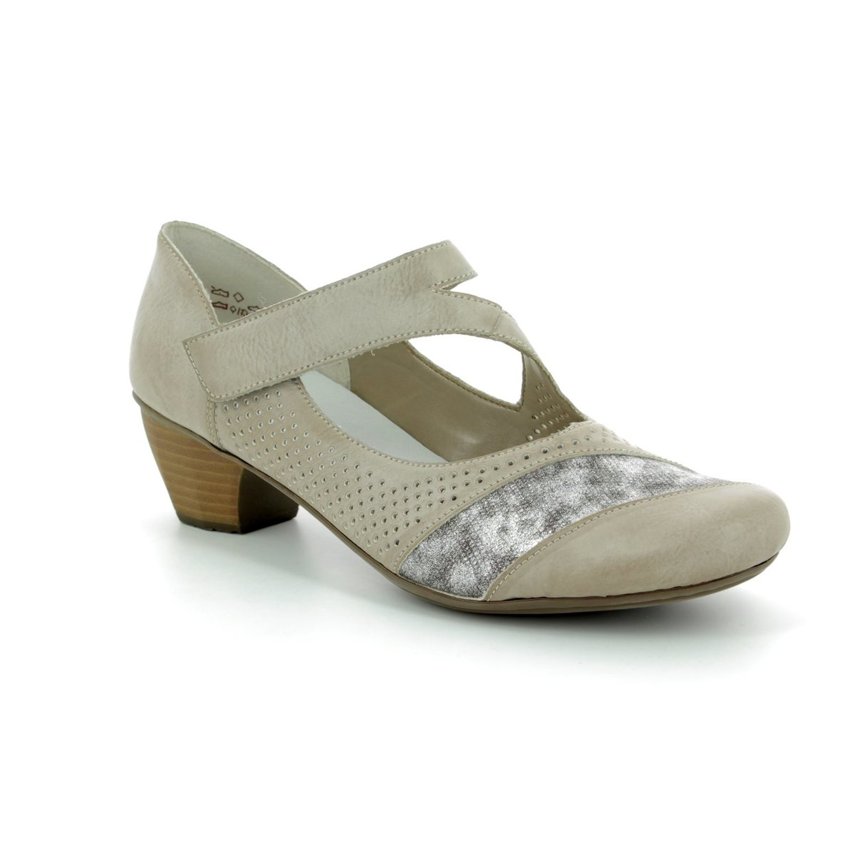 Womens Taupe Court Shoes