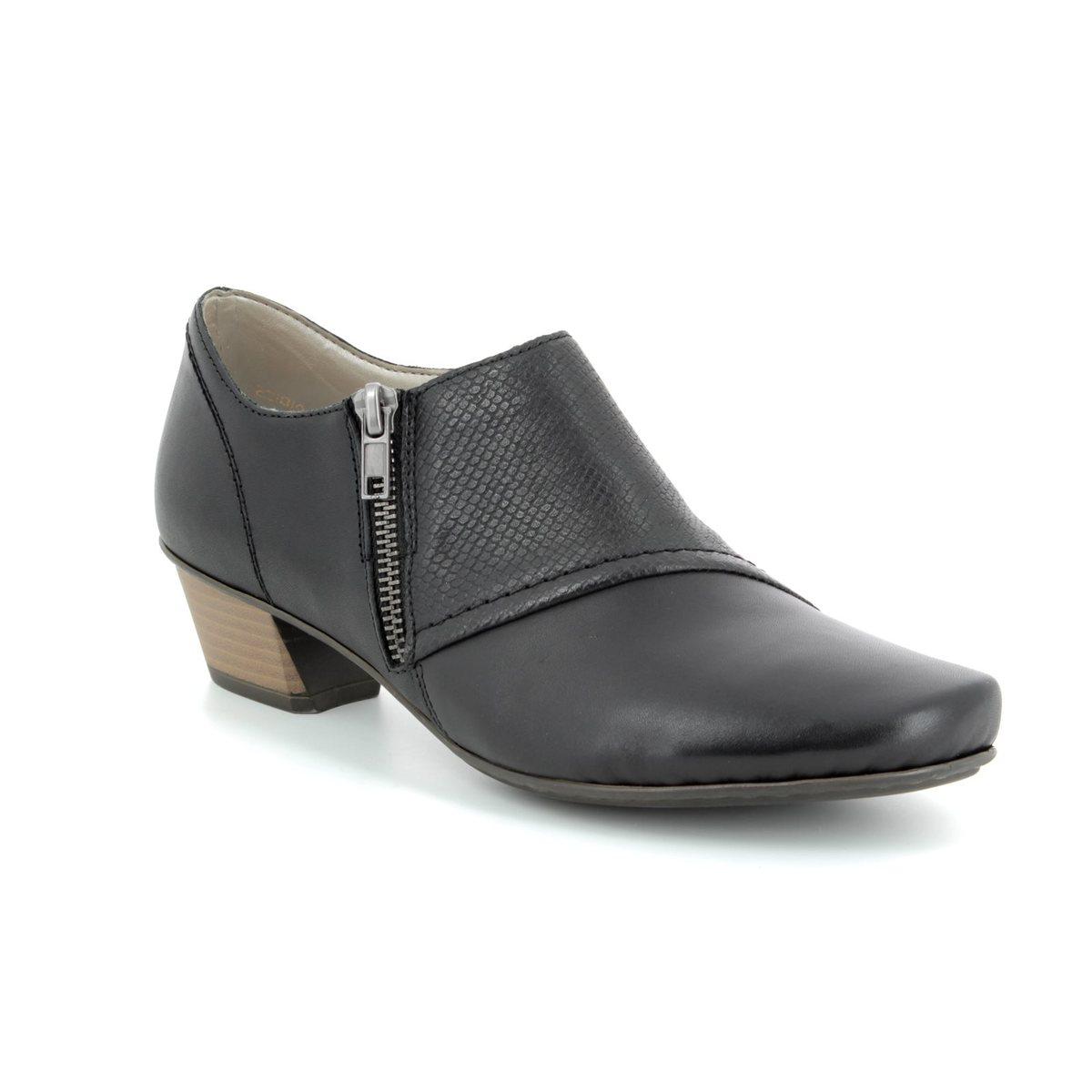 01d0167c3e Rieker Shoe-boots - Black - 53861-00 MIROTTI