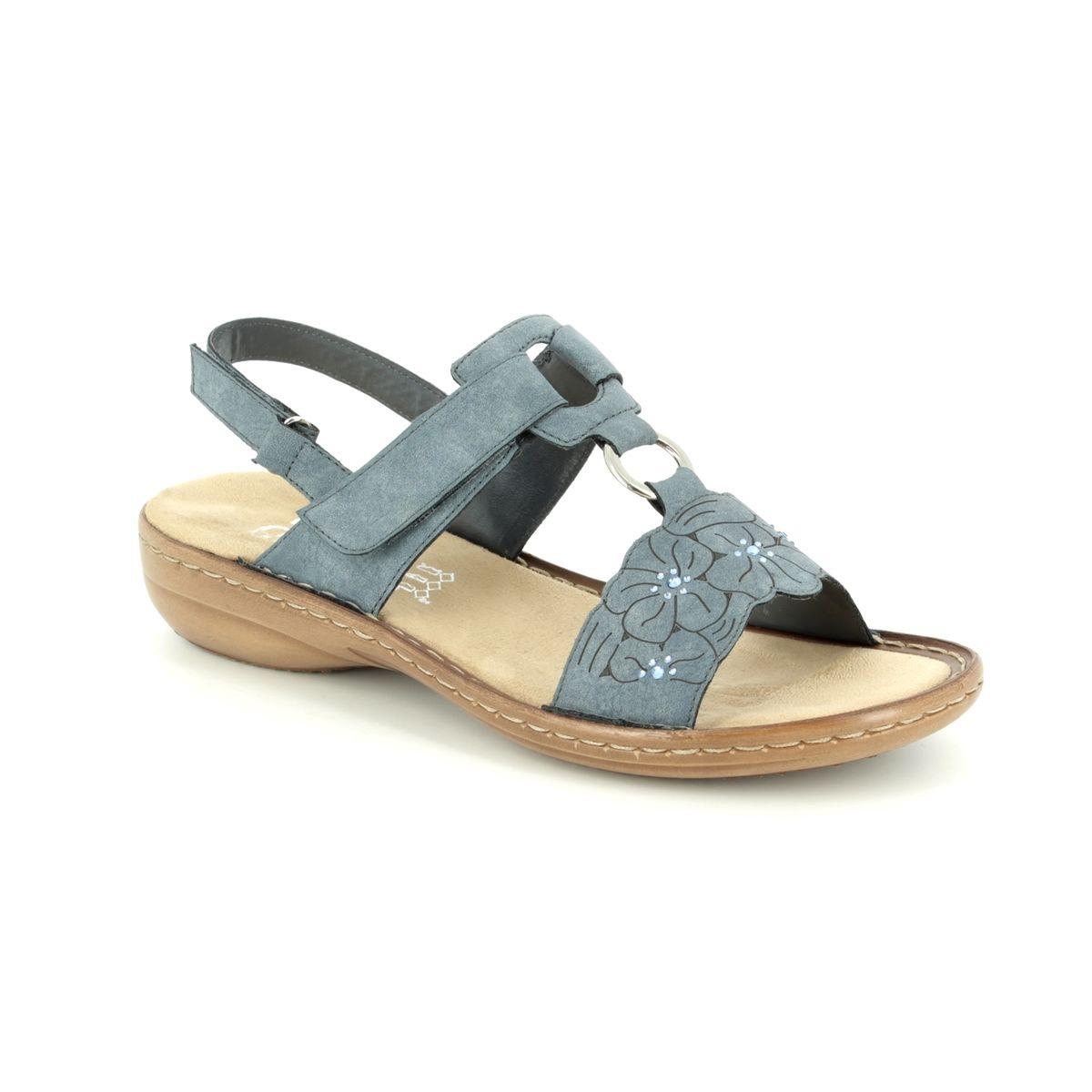 c707a82705 Rieker Sandals - Denim blue - 60843-14 REGIFLO
