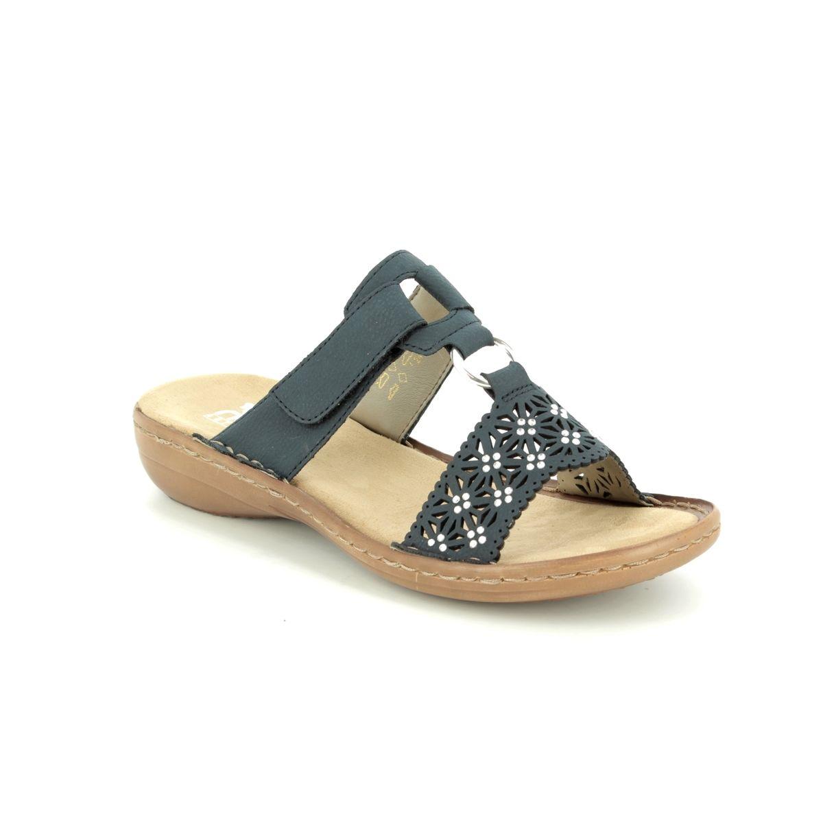 Rieker 60871-14 Navy sandals