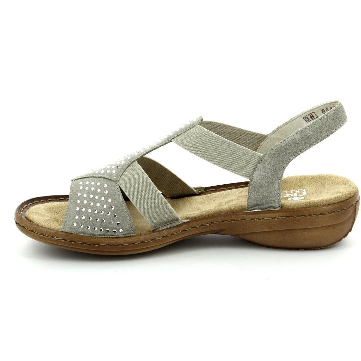 rieker 608y2 60 beige sandals. Black Bedroom Furniture Sets. Home Design Ideas